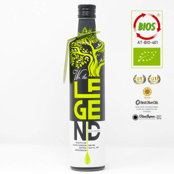 We The Legend Bio Premium Olivenöl Gaumenparadies